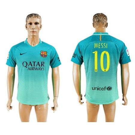 Barcelona 16-17 Lionel #Messi 10 TRödjeställ Kortärmad,259,28KR,shirtshopservice@gmail.com