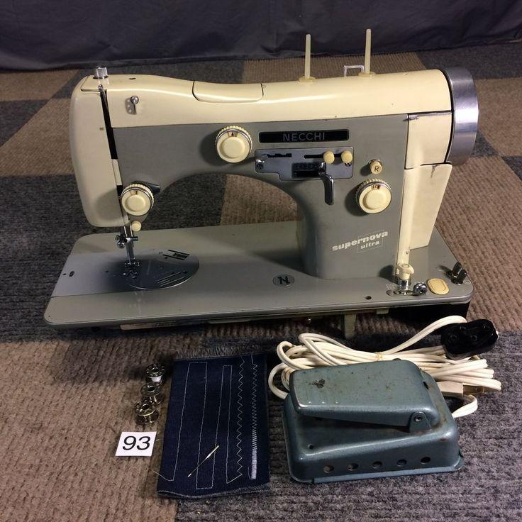 Vintage necchi sewing machines bcj