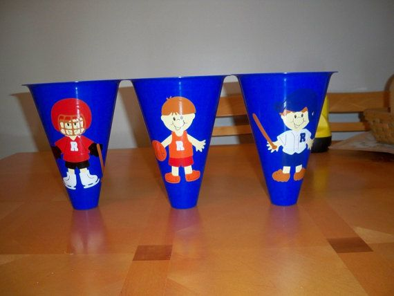 SPORTS THEMED BIRTHDAY party favor megaphones by BeyondBalloons, $6.00