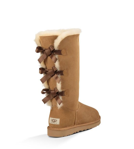 Omg I want these!!! Women's Chestnut Bailey Bow Tall Back View. Can order on Amazon.com