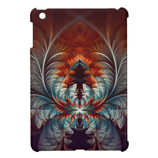 Frozen Dream Abstract Fractal Art iPad Mini Cover $44.40 #iPad #fractal #abstract #tech