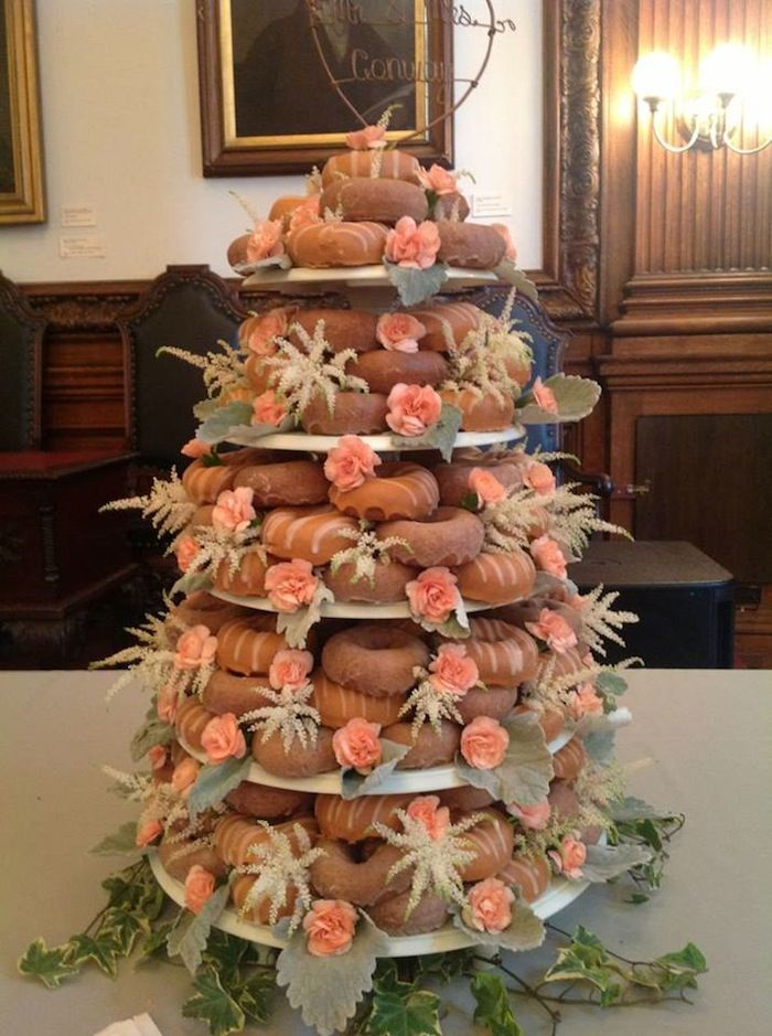 We're Obsessed: It's a Federal Donuts Wedding Cake! - Philadelphia Wedding