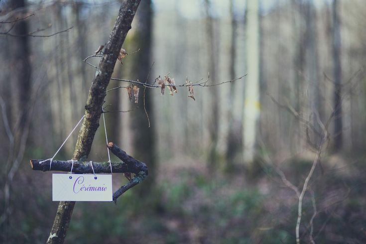 Flèche directionnelle mariage viking