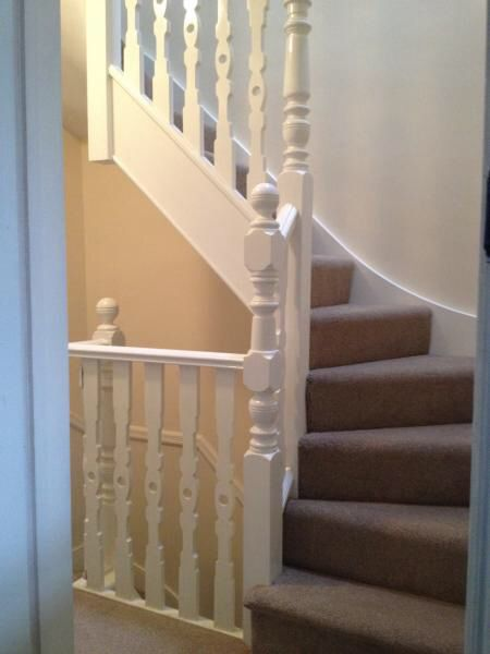 Loft conversion stairs