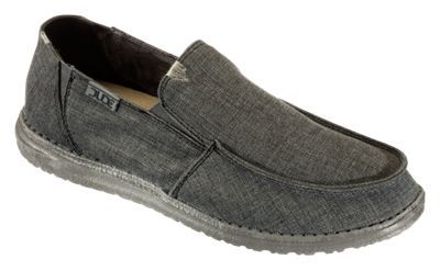 Hey Dude Chan Stretch Slip-On Shoes for Men - Steel - 13M