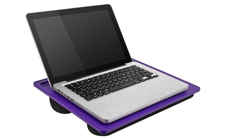 Laptop Lap Desk Portable Computer Table Notebook Cushion Pad Student Bed Lapgear #LaptopLapDeskPortableComputerTable