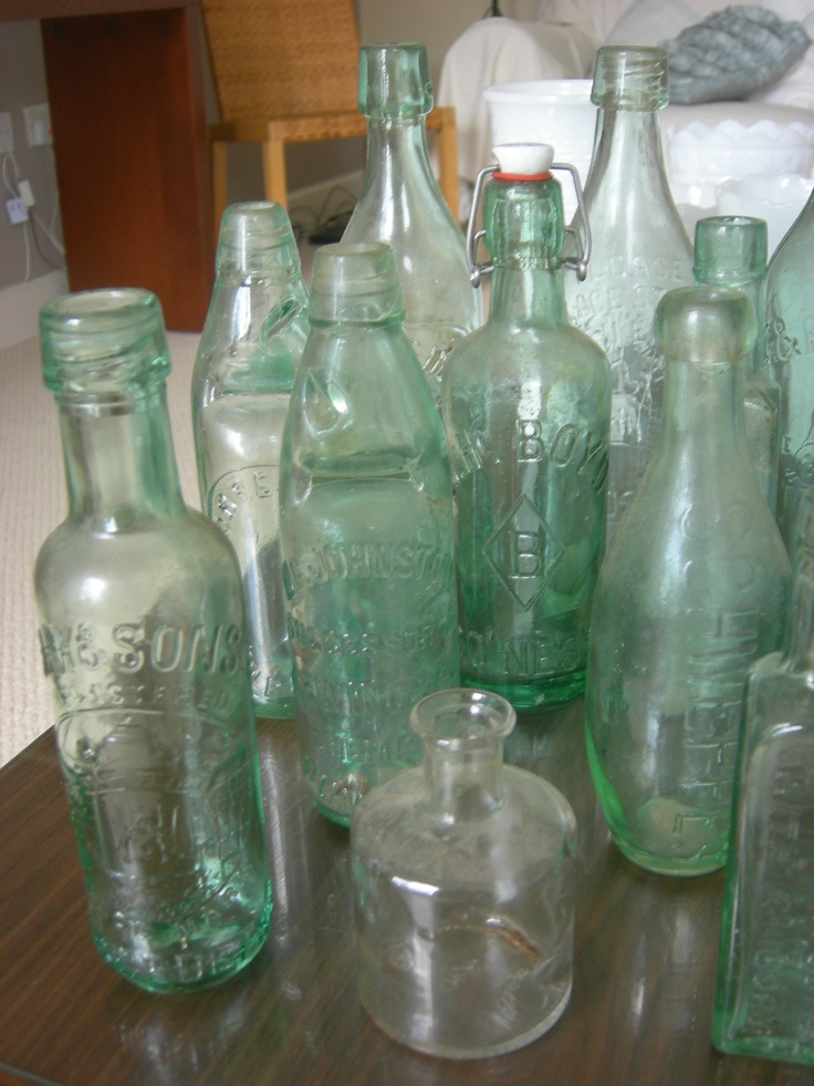 17 best images about antique glass bottles and glasswear for Make glasses out of bottles