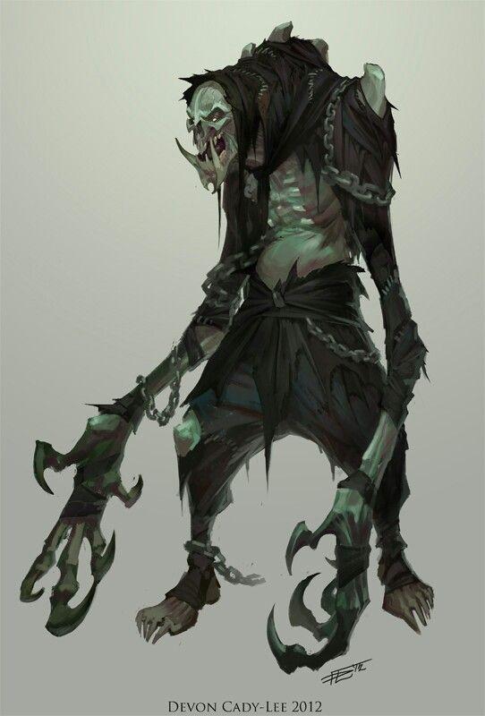 Changeling Monster