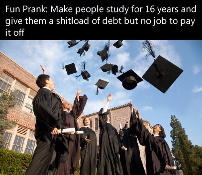 A fun prank