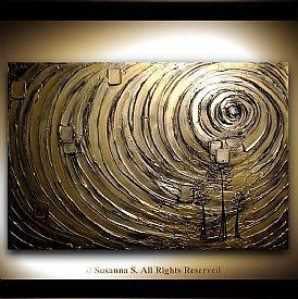 Arte Abstracto   Pinturas abstractas   Arte original línea de Susanna Shap   ModernHouseArt