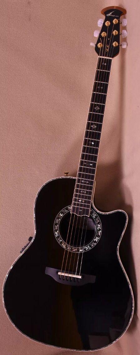 Ovation Custom Legend C779-LX-5 guitar.
