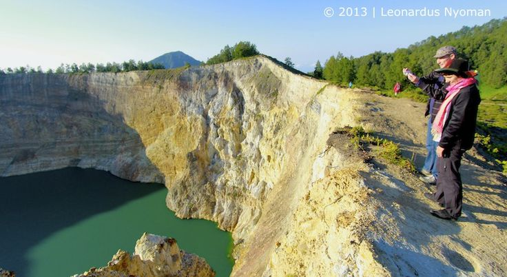 Kelimutu Lake Flores island Indonesia