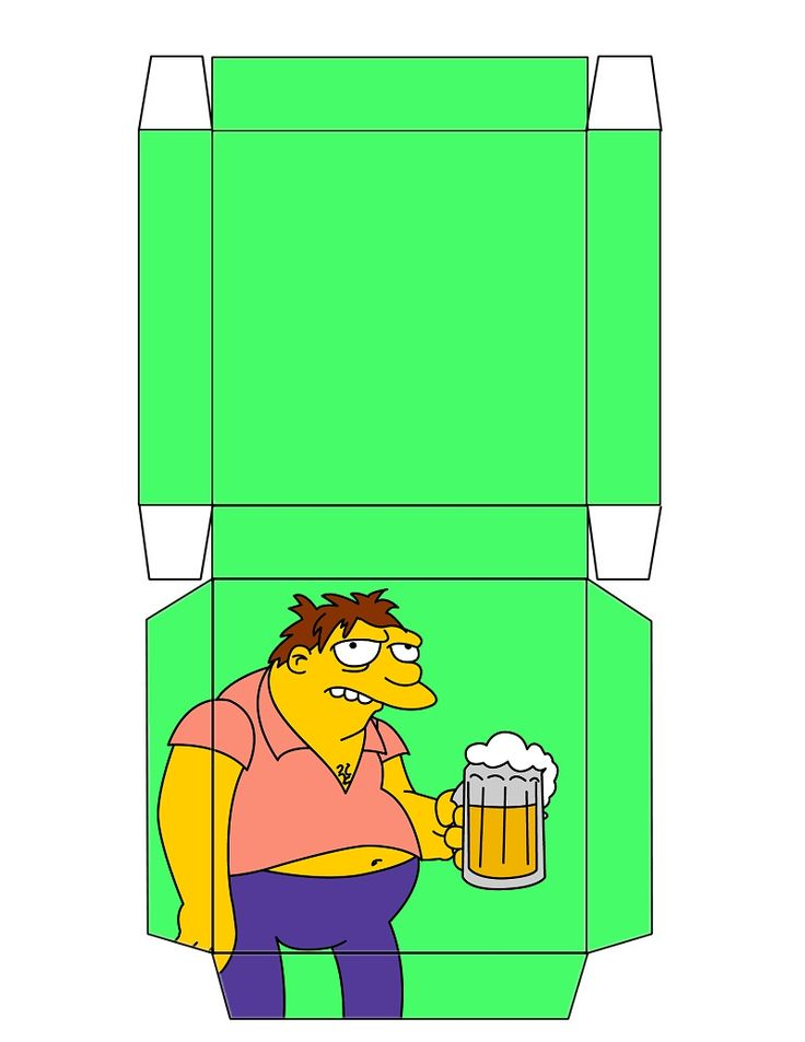 the simpsons barney box free to use and free to. Black Bedroom Furniture Sets. Home Design Ideas