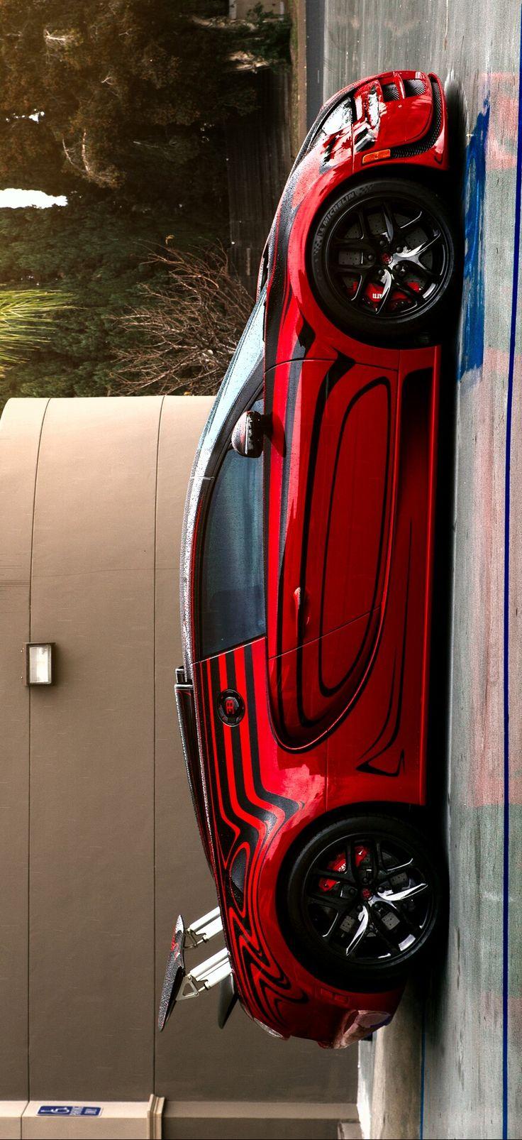 "(°!°) Bugatti Veyron ""Darth Maul"" was photographed by David Coyne and re-enhan…"