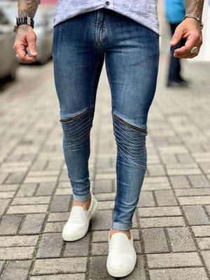 0bc9f855e Calça Jeans Skinny C/Ziper - Zip Off | calças da hora em 2019 ...