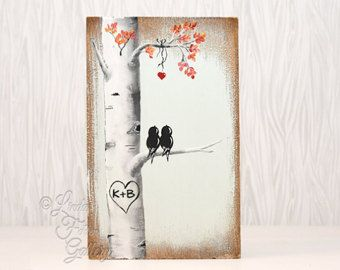 You and Me Sign Wood Sign Reclaimed Wood Art by LindaFehlenGallery
