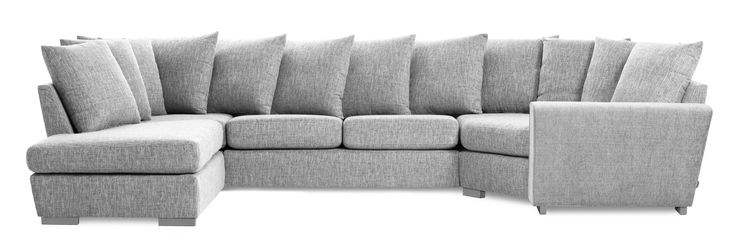 Friday är en rymlig soffa med bra komfort och lite högre ryggstöd. Denna variant är en 2-sits soffa med divan till vänster och cosy hörn till höger med lösa kuddar i ryggen. Du kan välja på olika armstöd och om du vill ha höga eller låga ben. De högre benen underlättar vid städning, samtidigt som det blir lättare att resa sig ur soffan. Friday finns att få i många tyger, läder och färgkombinationer. Köp gärna till en eller flera nackkuddar.