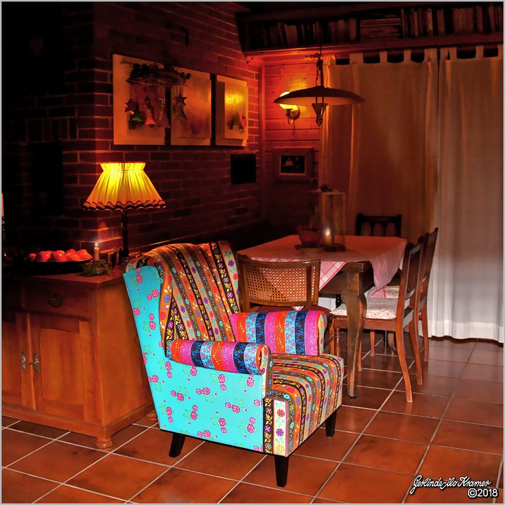 "My new colorful armchair ""Aladdin"""