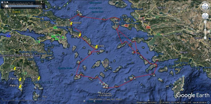 nice Sailing in the Mediterranean Episode 131 Route Planning