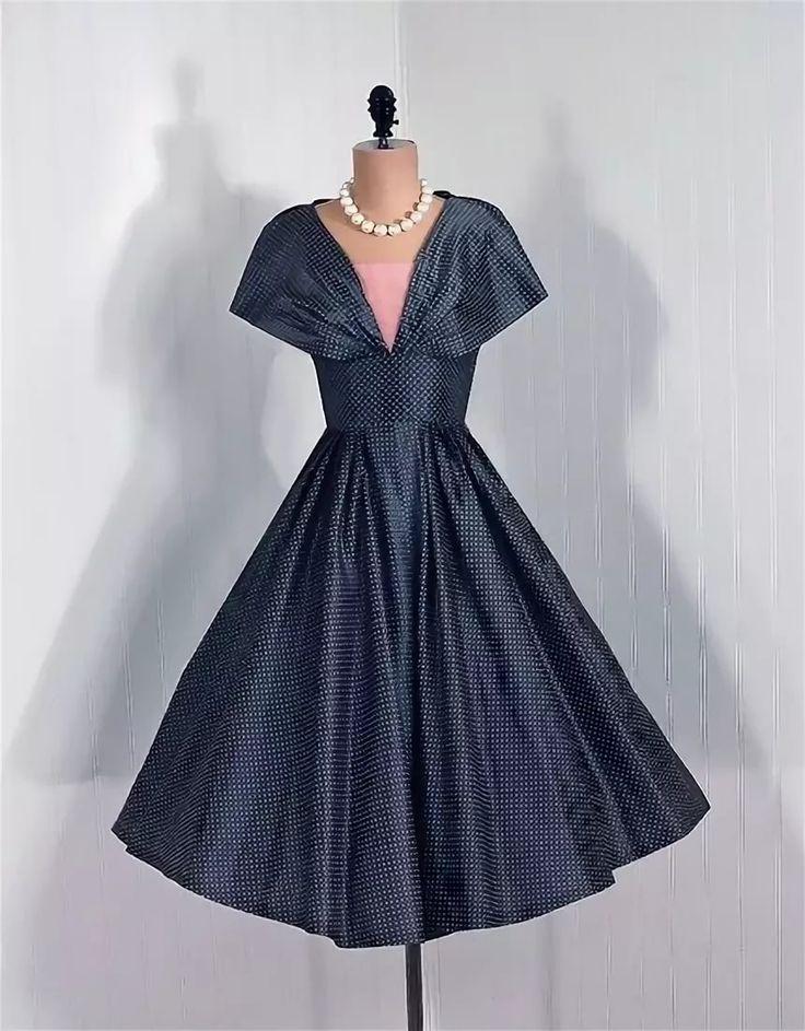 платье в стиле 50-х годов фото: 11 тыс изображений найдено ...