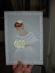 Tarjetas en pergamino: Bellas tarjetas de felicitacion para matrimonio en pergamino , pintadas , repujadas a mano espero sean de su agrado , muchas gracias. (2013-05-30 04:07:43). Subida por...