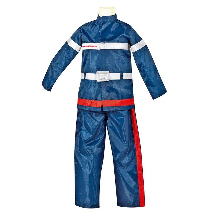 Déguisement Pompier 3-5 ans Oxybul pour enfant de 3 ans à 5 ans - Oxybul éveil et jeux