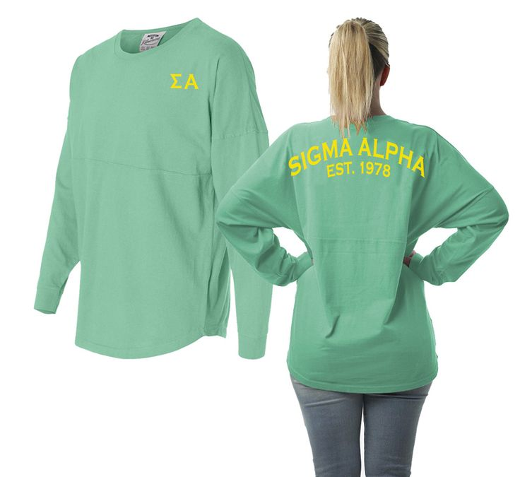 Sigma Alpha Game Day Billboard Jersey from GreekGear.com