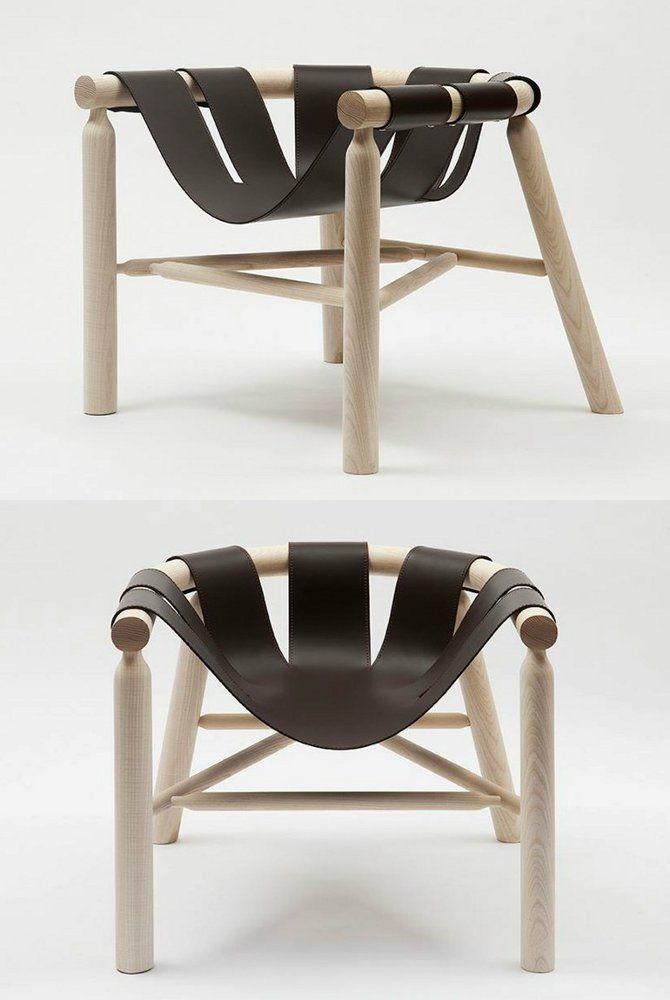 NINNA #armchair by Adentro | #design Carlo Contin @adentro0063