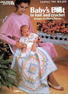 Baby's Best to knit and crochet Leaflet 191