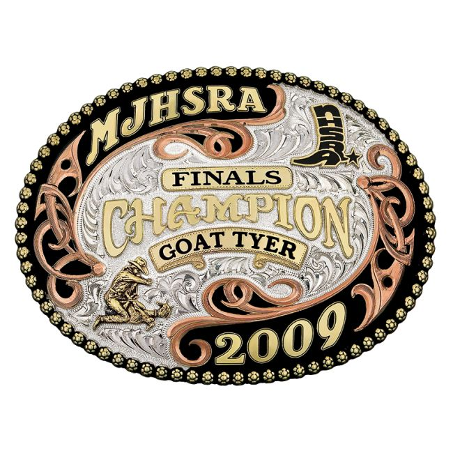 W-ATN014-S26-1 - Artisan Collection | Gist Silversmiths - Custom Western Belt Buckles, Trophy Buckles, Awards, Jewelry and Accessories