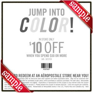 Aeropostale coupon code january 2018 - S2yd coupons bloomington