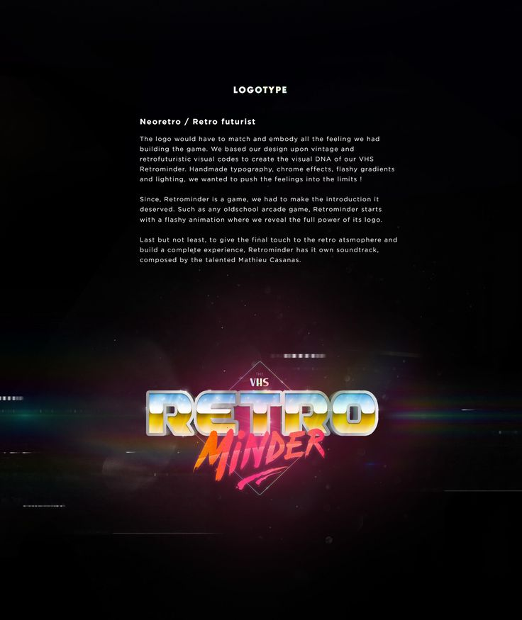 The VHS Retrominder | WEBSITE / GAME - Retro Quizz on Behance