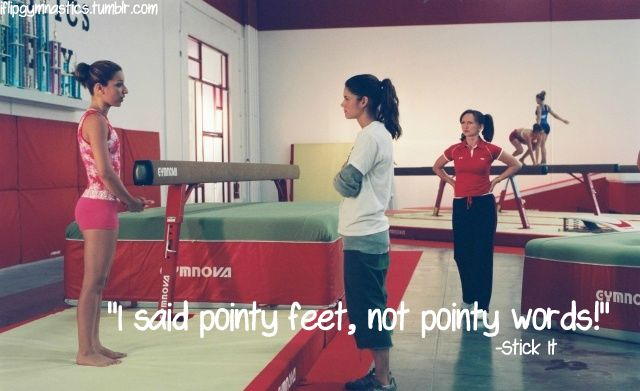 I said pointy feet, not pointy words! (Pointy words are mouth turds;D) -Stick It