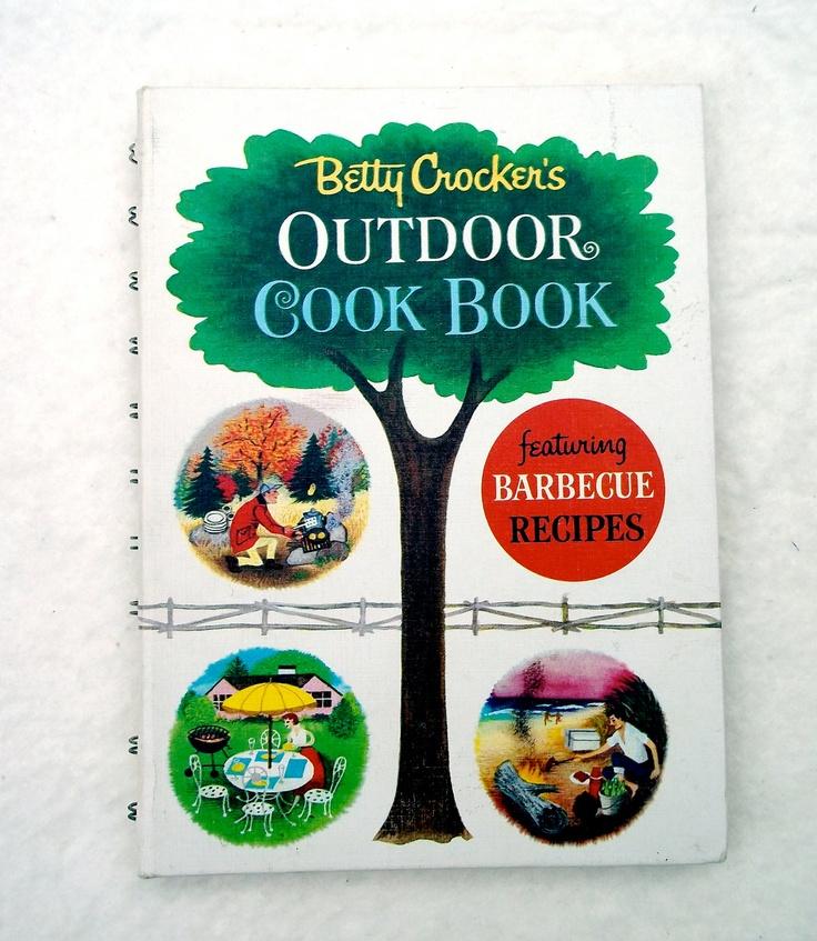 vintage betty crocker outdoor cookbook circa 1960 39 s. Black Bedroom Furniture Sets. Home Design Ideas