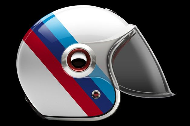 Ruby celebrates 90 years of BMW Motorrad with special helmet collection www.motard-chic.com