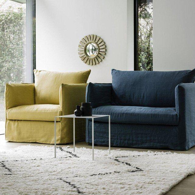 fauteuil neo chiquito toile lin froiss bultex am pm mobilier pinterest fauteuils. Black Bedroom Furniture Sets. Home Design Ideas
