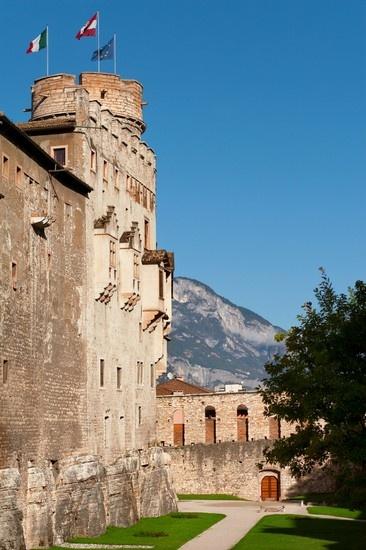 Castello del Buonconsiglio, Trento,Trentino province, Trentino alto Adige region .
