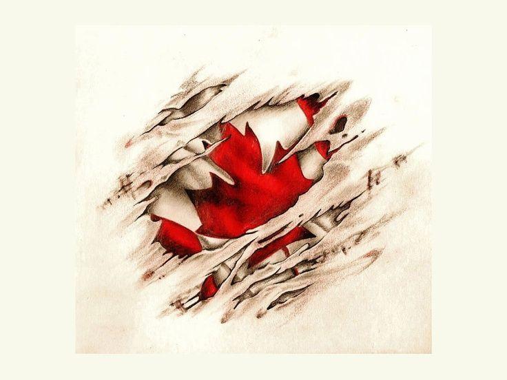 12a33dd9a74 ww2 memorial tattoos designs poppy canadian flag - Google Search ...