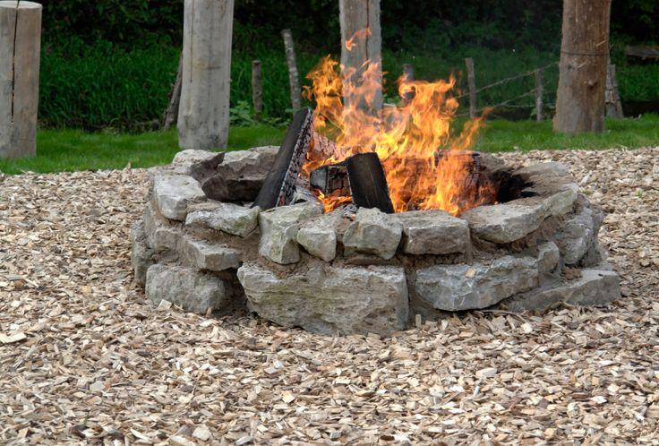 back yard firepit - Google Search