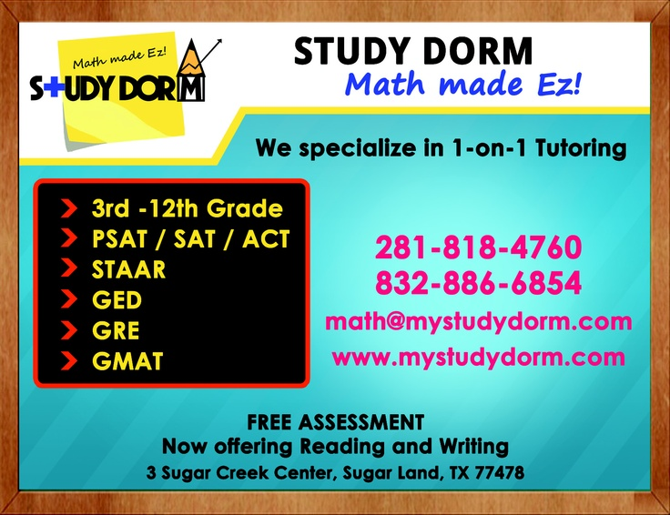 Tutoring Flyers  Tutoring In Houston
