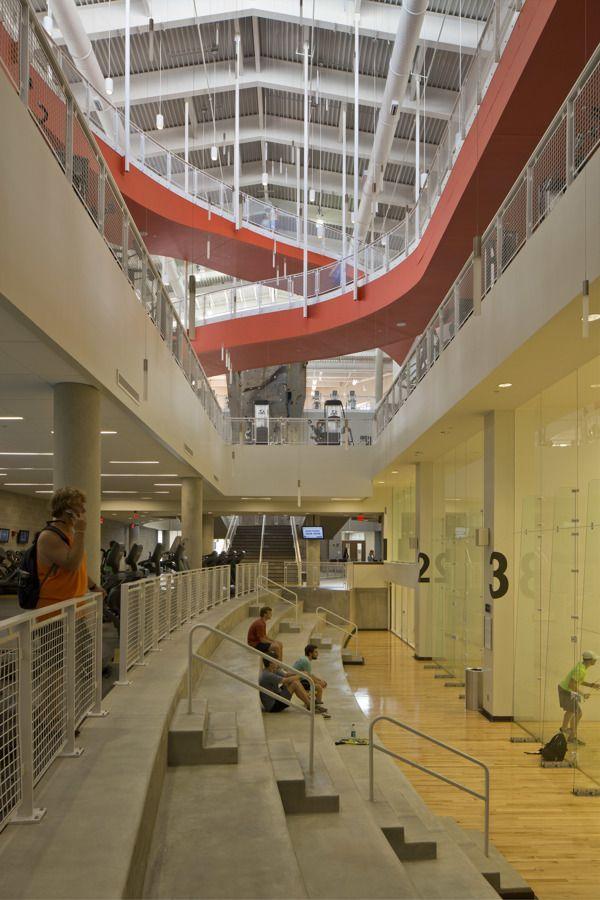 Auburn University Recreation & Wellness Center by Brad Feinknopf, via  Behance