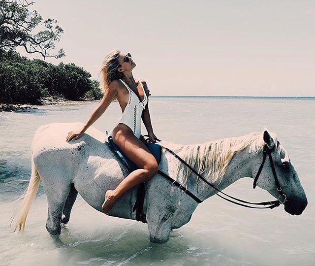 Instagram media by liberty_swim_intimates - #swim #swimwear #swimsuit #onepiece #white #horse #sea #beach #model #summer #여름 #말 #백마 #원피스 #스윔웨어 #모노키니 #화이트 @revolve