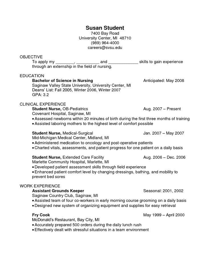 oncology nurse resume sample xv-gimnazija