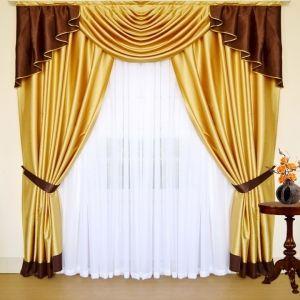Коричневые шторы - купить в интернет магазине СПб недорого