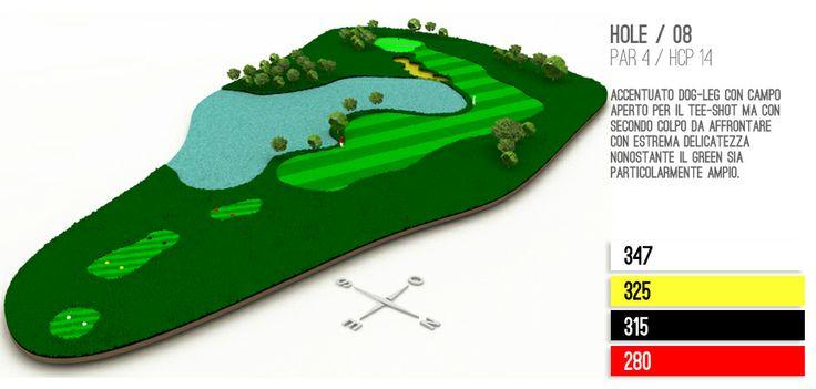 Hole 8 Golf Lignano