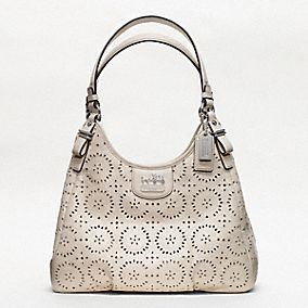 Coach :: Madison Lace Leather Maggie - Love it!