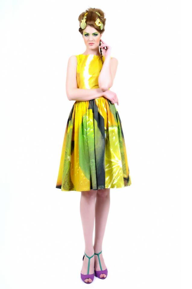 lemon dress