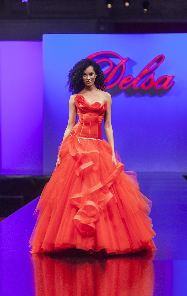Delsa Couture collection - D6546