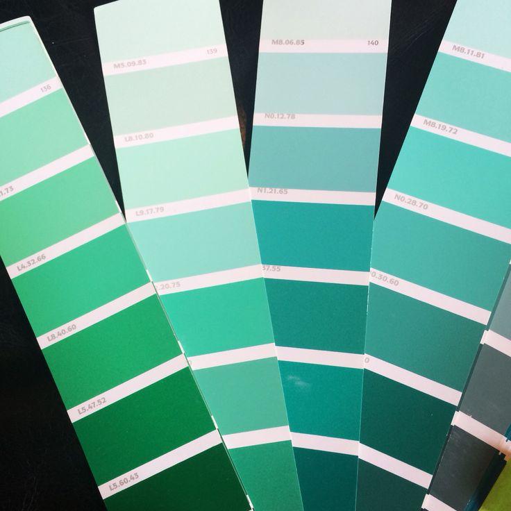 Al lavoro per la scelta del verde per la cameretta bimbo! Palette verde acqua by maydaycasa.com