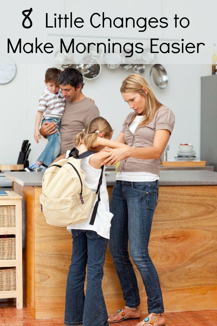 8 Ways to Make Mornings Easier | Parenting Tips | Adhd kids, ADHD, Parenting